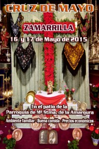 Cartel Cruz de Mayo zamarrilla 2015