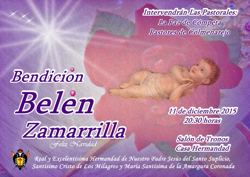 cartel bendición