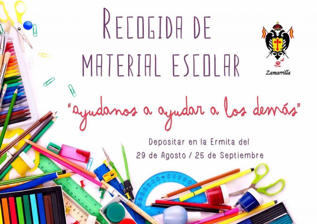 Campaña de Recogida de Material Escolar